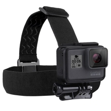 PULUZ Elastic Adjustable Chins Head Belt Strap Light Weight Headstrap Belt Straps Mount For <strong>GoPros</strong> HE RO 4s/4/3+3/2/1/6/5