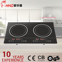 home appliance electric stove 1800w double burn induction cooker which is more convenient