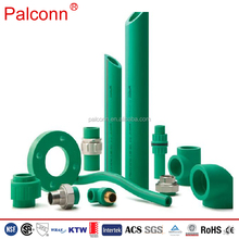 High qualityISO 15874 DIN 8077 8078 Green color PPR Al PPR pipe and fittings for water supply