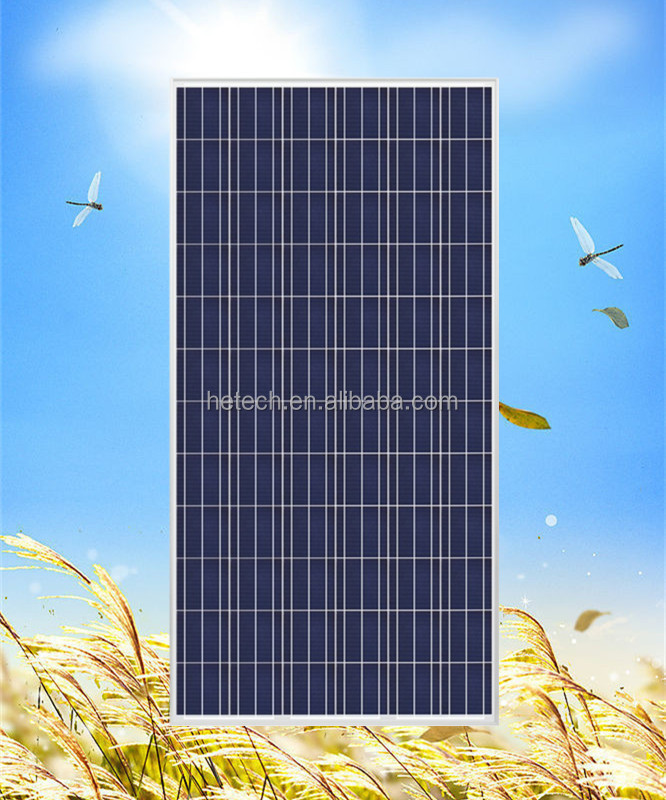 High efficiency poly-crystalline 320 watt solar panel with TUV