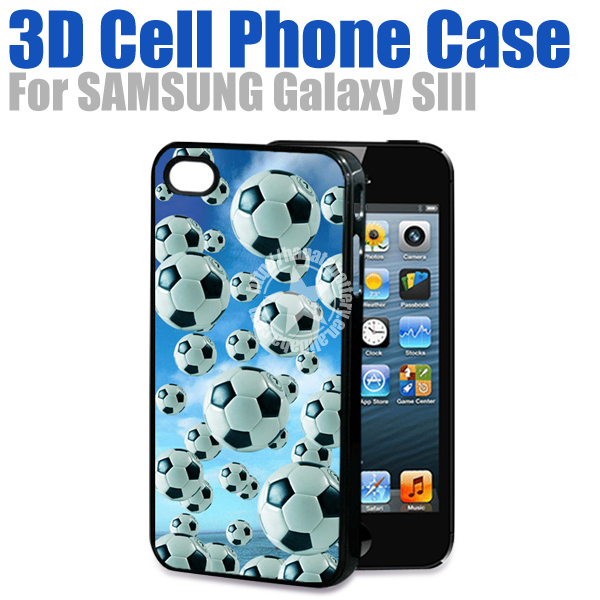 [HANATA] 3D Unique Football SmartPhone Case for Samsung Galaxy SIII S3 i9300 Made in China