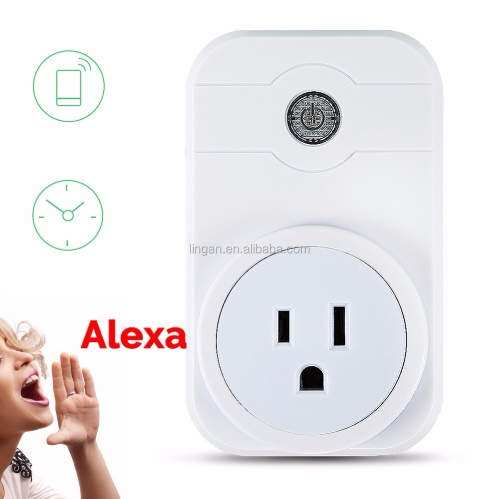 Timing function by free app with us smart outlet wi-fi light switch