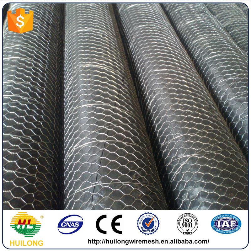 Anping huilong manufacture chicken coop hexagonal wire mesh for plastering
