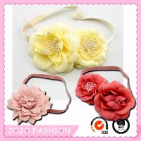 Hot selling fancy baby flower headband for kids