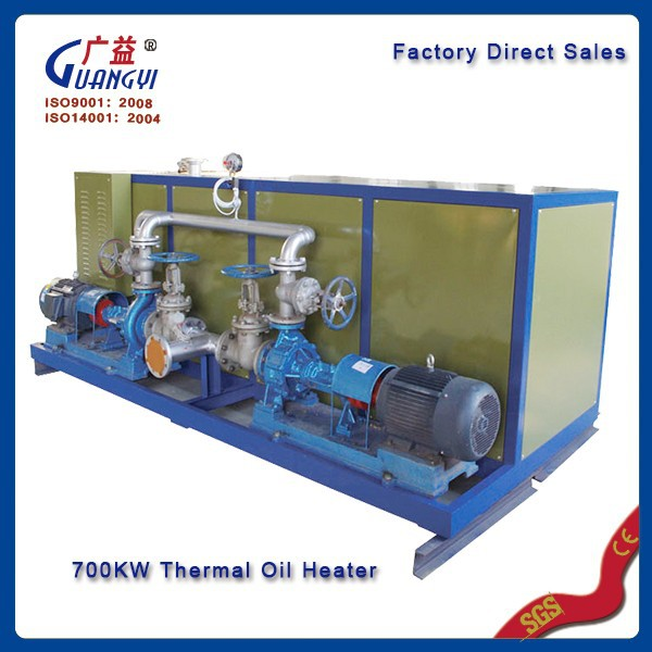 chemicals electric thermal oil heater made in china