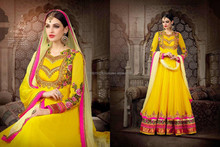 New Bollywood Indian Party Wear Anarkali Long Pakistani Salwar Kameez fashion Designer long length anarkali R2018
