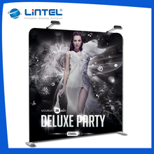 Portable Tension fabric display banner stand for exhibition