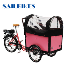 electric assist pedal cargo bike
