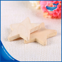Wall Hanging Lacquer Wooden Star Decoration,Wooden Pieces Ornament