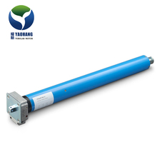 electronic tubular motor for rolling shutter door with manual function