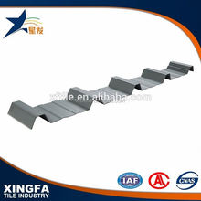 China supplier asa high wave pvc roofing
