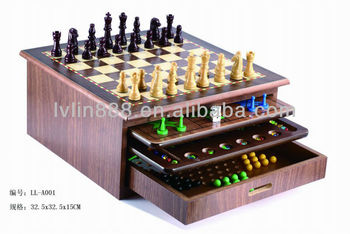 10 in 1 game/family game set/Chess Set