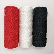 1 mm - 3mm 3-strand twist polyester PP packing rope string twine