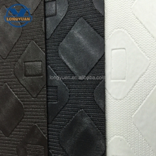 New design resin pvc leather for furniture and decorative
