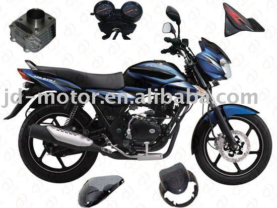 Indian bajaj motorcycle DISCOVER 135 parts