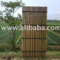 Bamboo Fence Panel Natural 200x100