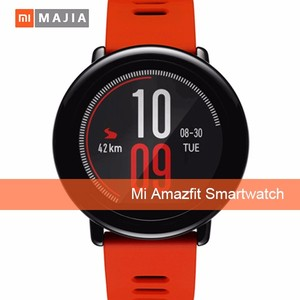 In Stock AMAZFIT Huami Sports Smartwatch 1.34 inch Sport BlueTooth MP3 Music Waterproof wifi smart watch
