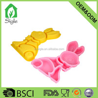 Animal shaped silicone cake mold bakeware Easter bunny rabbit cake cookie cake mold
