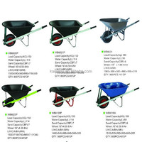 High quality big plastic tray Construction wheelbarrow
