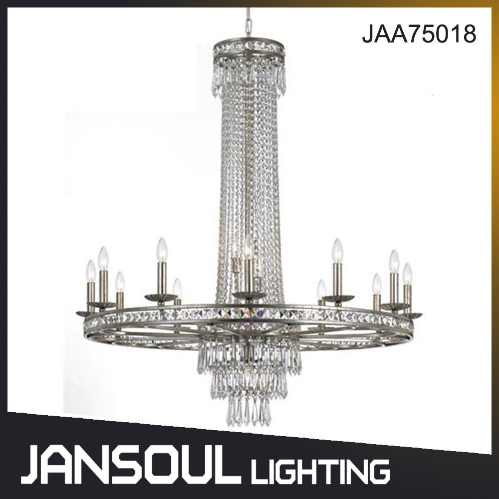 JANSOUL classic stryle crystal chandelier light mosque chandelier use for decor