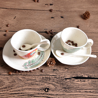 cheap bulk ceramic chinese tea cups, wholesale white porcelain custom printed ceramic tea cups and saucers