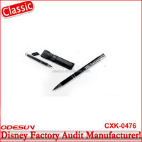 Disney Universal NBCU FAMA BSCI GSV Carrefour Factory Audit Manufacturer Hot Promotion Gold Ball Pen