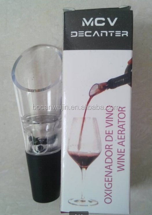 quick magic decanter wine aerator pourer