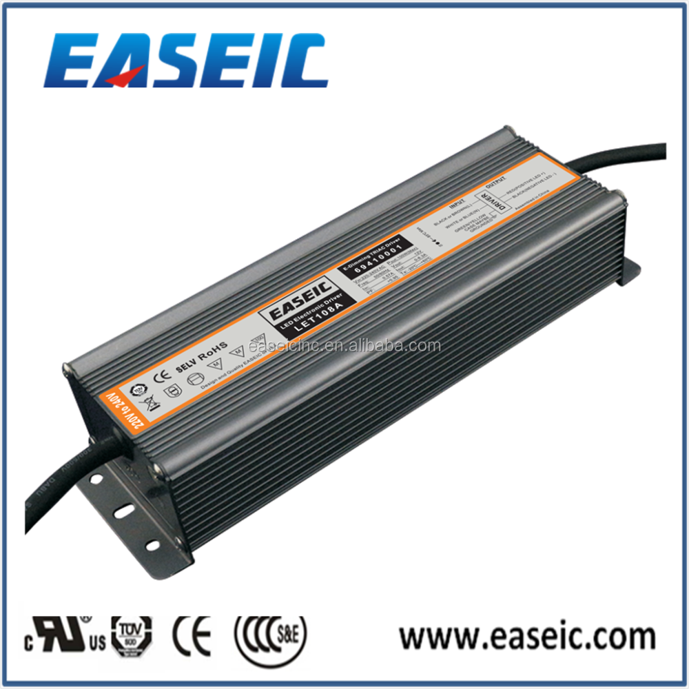 LET108A Constant Voltage 12V 100W 220-240VAC Led strip light Triac dimmable ul led driver