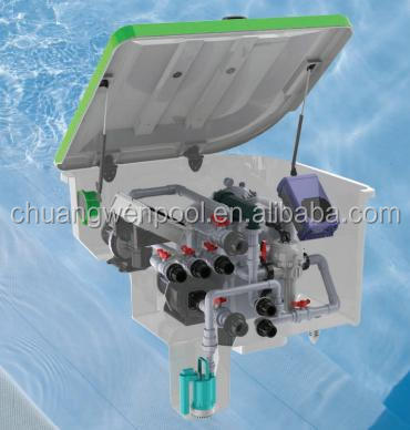 Integrative Pump and Sand Filter Swimming Pool Filter System