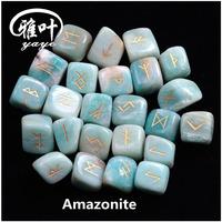 Bulk Whole Rune Tumbled Stones for Birthday Gift
