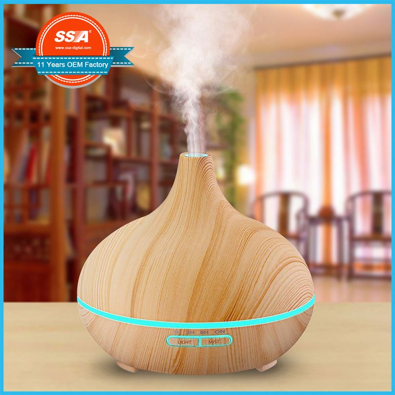 Wholesale 300ml electric aroma essential oil humidifier mist diffusers for room