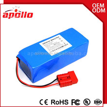 High voltage 36v 8ah lithium battery and 36v li-ion type for e bicycle