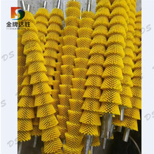 Industrial Punched Taper Roller Brush
