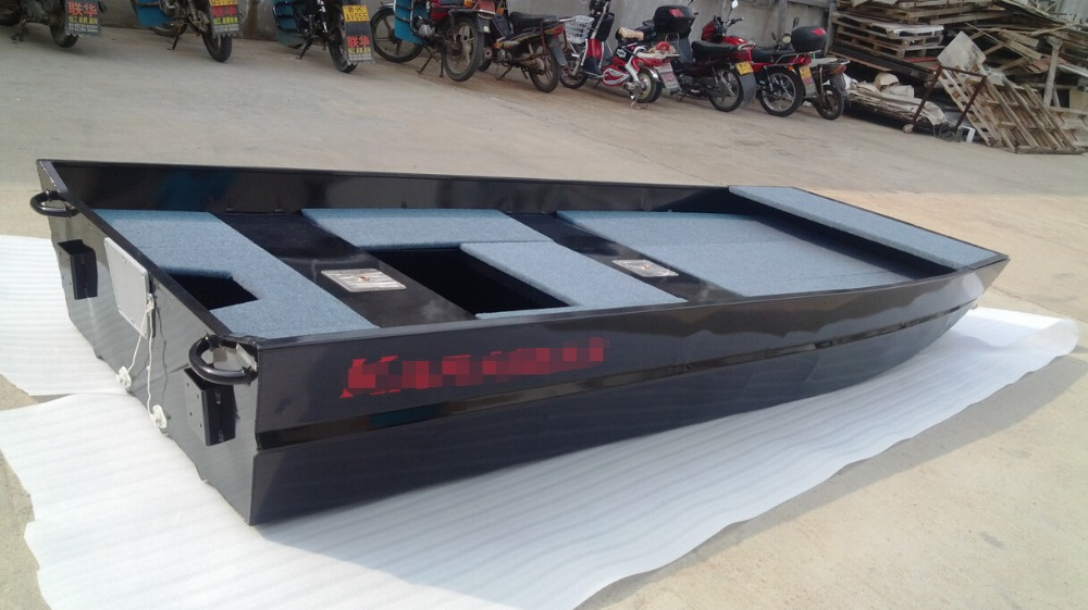 Black Painting Aluminum Flat Boat For Sale View Black Painting Aluminum Flat Boat Xiangda