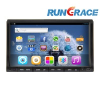 Touch screen WIfi Bluetooth 2 din 7 inch car DVD player GPS navigation