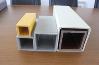 FRP Fiberglass tube / Rectangular Tube