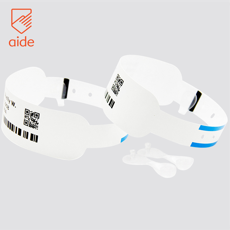 photograph relating to Hospital Bracelet Printable called Aide Watertight Client Printable Healthcare facility Label Lead Theraml Printer Bracelet Wristband Identity With Bar Code - Acquire Lead Theraml Wristbands,Clinic