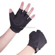 High quality half Finger breathable Microfiber cycling gloves 3609