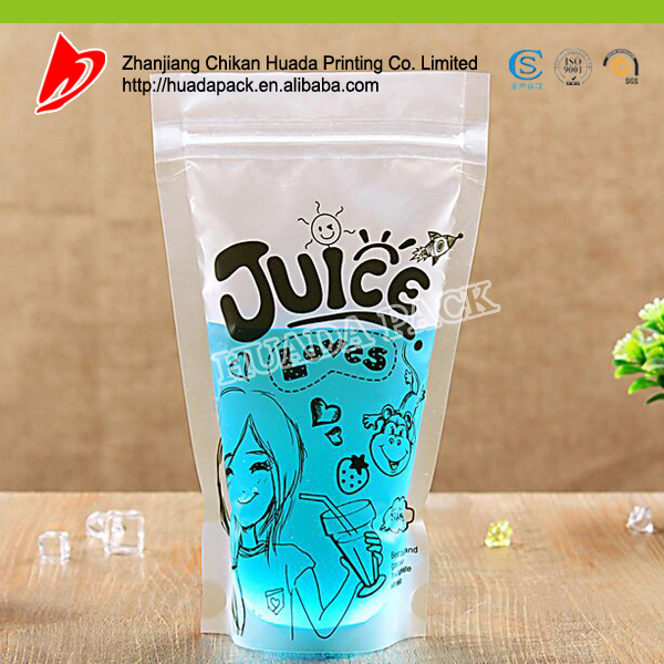 Packaging & Printing new products orange juice wholesale packaging bag