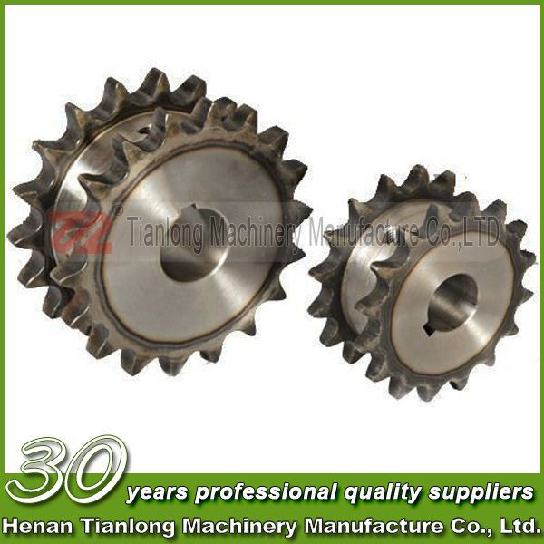30 year experence sprocket producer produce double row sprocket