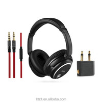 23DB High Quality ANC Active Noise Cancellation Headphone With Microphone For Pilot