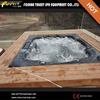 Perfect Spa luxury!!Deluxe hot tub outdoor spa balboa outdoor hot tub with pop-up speakers