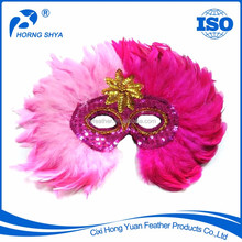 Alibaba TOP10 Manufacturer Lower Price High Quality Venetian Mask With Feather