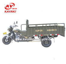 200CC Water Cooled Big Cargo Box Motor Tricycle Water Tricycle for sale