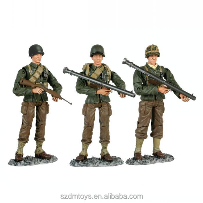OEM Military Play Set PVC Action Figure Anime Merchandise ICTI Factory