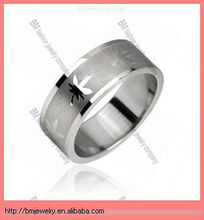 Surgical Steel Ring with Pot Leaf jewelry good quality hot design