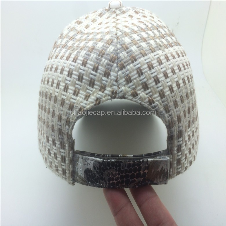 high quality custom baseball hat with 3D embroidery