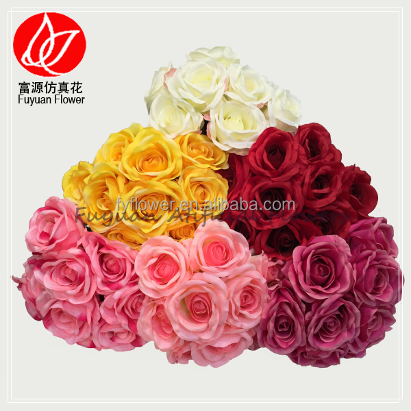 140430 factory direct sale cheap best sell hydrangea rose flower artificial wedding car decoration