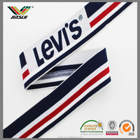 factory sublimation polyester spandex strap printed stretch satin elastic