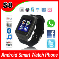 Android 4.4 Smart Watch 5.0MP Camera Bluetooth Smart Watch Phone WIFI 3G GPS